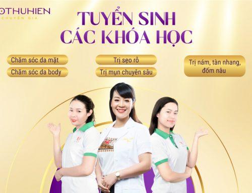 Chiêu sinh khóa học nghề spa tại Hiền Vân Academy
